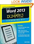Word 2013 eLearning Kit For Dummies (...