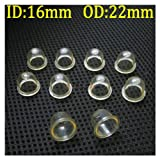 10pcs Fuel Pump Carburetor Primer Bulbs for Chainsaws Blowers Trimmer Brushcutte (OD: 0.86