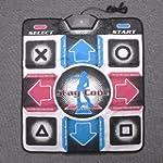 SODIAL(R) USB Non-Slip Dancing Pads S...