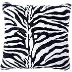 18x18 Zebra Pillow