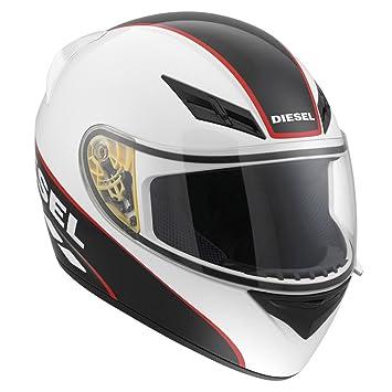 Nouveau AGV Diesel Logo Full-Jack casque de moto blanc/noir/rouge