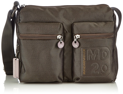 Mandarina DuckMD20 TRACOLLA PIRITE - Borsa a tracolla Donna , Marrone (Pirite), 30x25x10 cm (B x H x T)