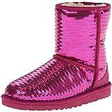 UGG Australia Kids Classic Short Sparkles Boot