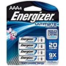 Energizer L92BP-Energizer Ultimate Lithium AAA Battery (4-Pack), Black