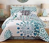 13 Piece Queen Polona Cotton Bed in a Bag Set