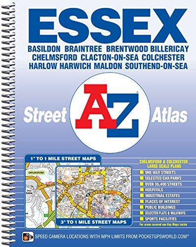 A-Z ESSEX STREET ATLAS (A-Z Street Atlas)