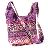 Fuschia/Purple Tone Glitter Bag