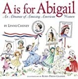 cover of A is for Abigail: An Almanac of Amazing American Women