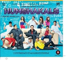 Humshakals Hindi Audio CD (Saif Ali Khan, Bipasha Basu, Riteish
