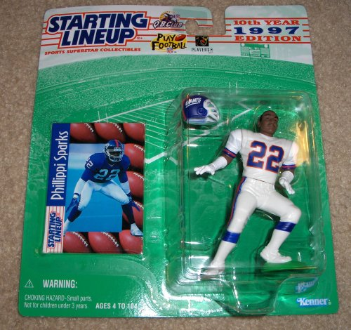 1997 Phillippi Sparks NFL Starting Lineup Figure