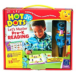 EDUCATIONAL INSIGHTS HOT DOTS JR. LET\'S MASTER PRE-K READING SET WITH ACE PEN