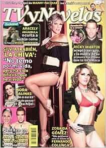TVyNovelas 2010 Abril 5, Mexican Edition - Zoraida Gomez
