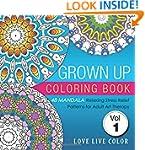 Grown Up Coloring Book: 48 Mandala Re...