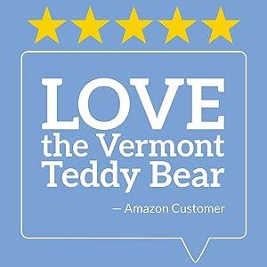 Vermont Teddy Bear Giant Stuffed Animals - Life Size Teddy Bear, 6 Foot (Tamaño: 6 foot Bear)