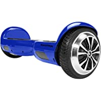 Swagtron T1 Self-Balancing Electric Scooter & Hoverboard (Blue)