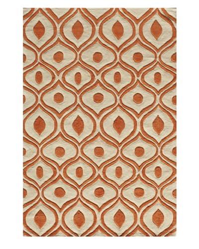 Rug Republic Bliss Rug, Orange, 3' 6 x 5' 6