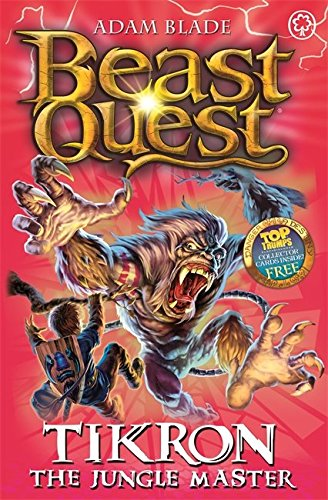 Beast Quest: 81: Tikron the Jungle Master (Beast Quest Series 4 compare prices)