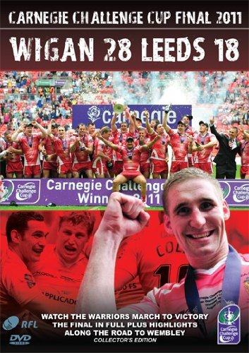 Carnegie Challenge Cup Final 2011 Wigan Warriors 28 Leeds 18[DVD]