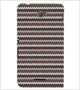 PrintDhaba Pattern D-5902 Back Case Cover for SONY XPERIA E4 (Multi-Coloured)