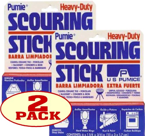 U. S. Pumice Hdw-12 Pumie Scouring Stick (2 Pack) front-30521