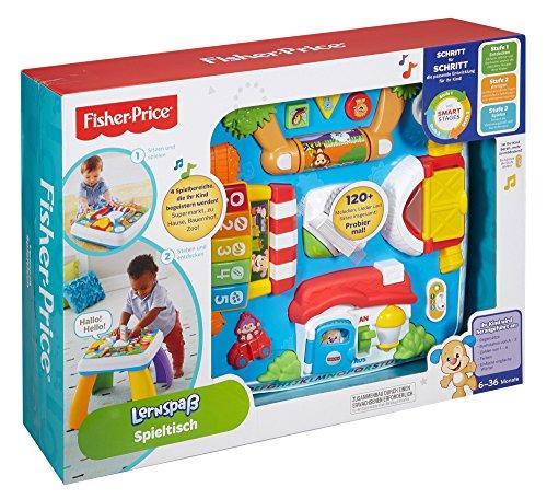 Mattel Fisher-Price DRH31 – Lernspaß Spieltisch – Com.ForAfrica
