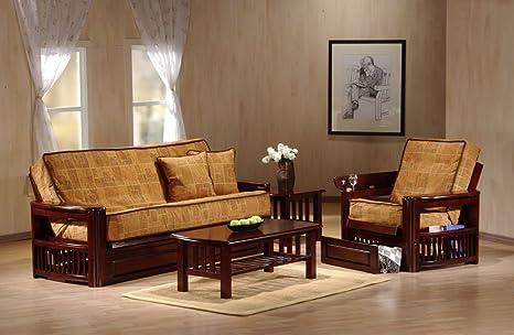 J&M Furniture 1756510-Q-JV Tudor Futon Frame