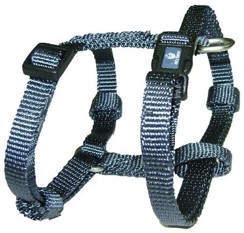 Hamilton Adjustable Comfort Dog Harness, X-Small, Graphite