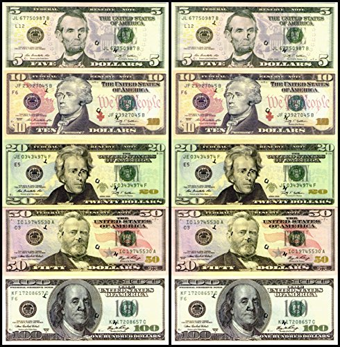 Printable Fake Money Pdf Free US Currency Sheets Play Simply Print The PDFs Double Sided And Cut Out Bills Click To Open Each PDF