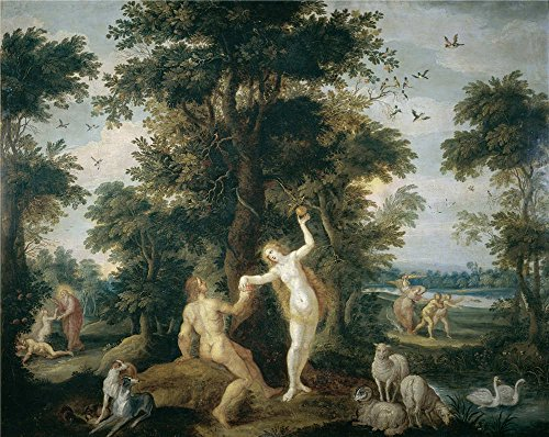 Oil Painting 'Francken Frans II El Pecado Original', 24 x 30 inch / 61 x 77 cm , on High Definition HD canvas prints is for Gifts And Bar, Dining Room And Kitchen Decoration, huge (Caulk Finishing Tool Spatula compare prices)