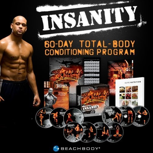Insanity: The Ultimate Cardio Workout and Fitness DVD Programme.