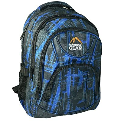 "Outdoor Gear 17 16 15 "" Inch Laptop Travel Backpack Rucksack Luggage Hiking Bag from OUTDOOR GEAR"