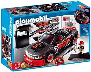 playmobil 4366 jeu de construction voiture tuning avec effets sonores jeux et. Black Bedroom Furniture Sets. Home Design Ideas