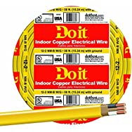 Southwire 28828218 Do it Nonmetallic Sheathed Cable-50' 12-2 NMW/G WIRE