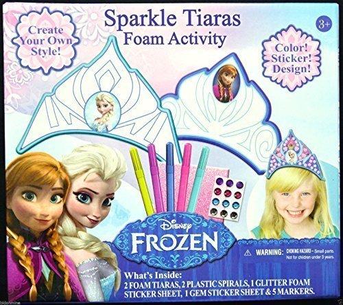 [Disney Frozen Sparkle Tiaras Foam Activity] (Disneyland Haunted Mansion Costume)