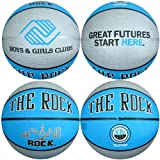 Anaconda Sports® The Rock® MG-4300-GF Boys and Girls Club B&G Great Futures Intermediate Size Rubber Basketball