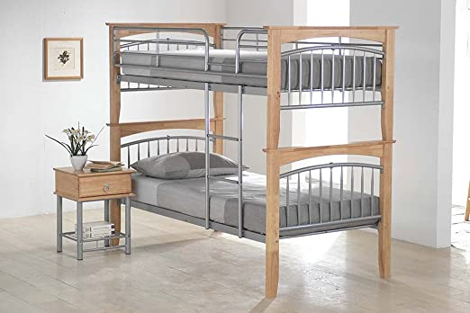Ideal Furniture Euro Bunk Bed, Beech