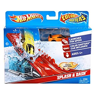 Hot Wheels Color Shifters Splash and Dash Playset