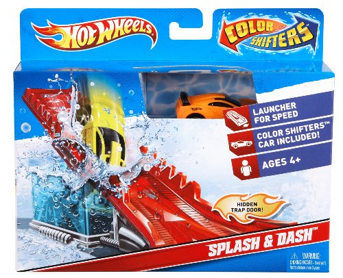 Hot Wheels Color Shifters Splash and Dash Playset (Color Changing Hotwheels Cars compare prices)