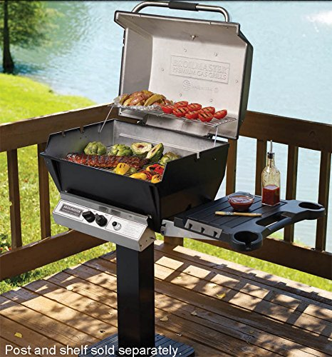 Broilmaster H4X Deluxe Gas Grill  Stainless Steel