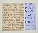 img - for Iowa Place Names of Indian Origin book / textbook / text book