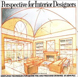 Perspective For Interior Designers John Pile 9780823040087 Books