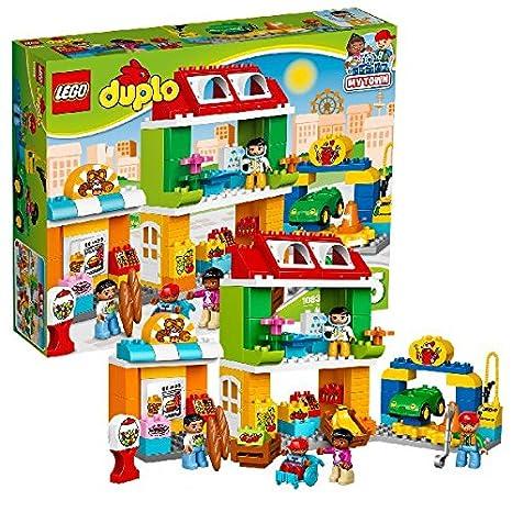 LEGO - 10836 - DUPLO - Jeu de Construction - Le Centre Ville
