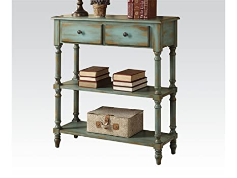Bedroom Bombay Chest Antique Green by Acme Furniture