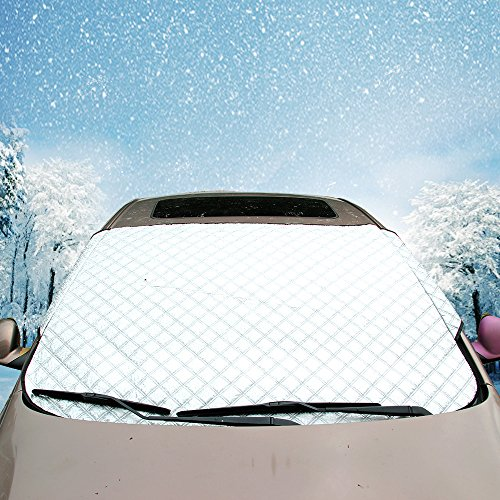 REEGE Car Windshield Snow Cover Extra Thick Auto Front Window Sun Shade Cover, Sun Protection Visors Protective Shields (Windows Shield compare prices)