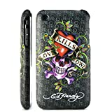 Ed Hardy iPhone 3G/3GS Designer hard back case Cover Christian Audigier Hard Skull