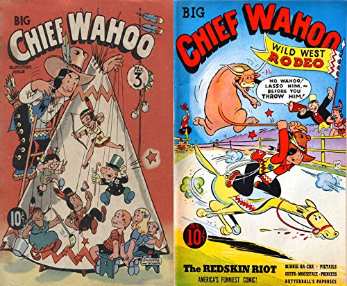 big-chief-wahoo-issues-3-and-5-americas-funniest-comic-features-the-redskin-riot-minnie-ha-cha-pigta