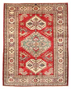 Alfombra kazak 152x196 alfombra oriental hogar for Alfombras comedor amazon
