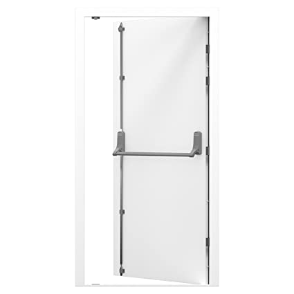 Latham's Heavy Duty High Security Steel Fire Exit Door - LH Hinged (1145x2020)