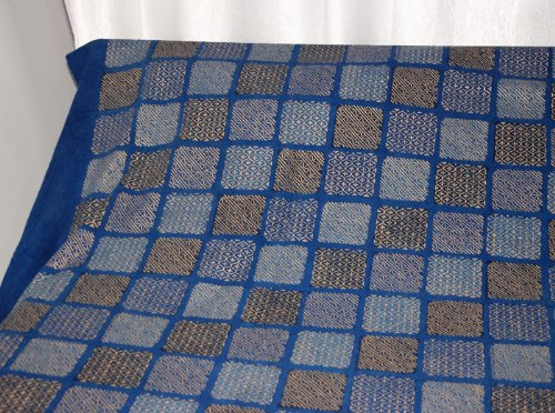 Imagen 4 de Mano de oro indio Bloquear Colcha Imprimir con fundas de almohada Tamaño 84 x 106 pulgadas