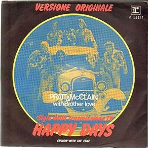 Pratt And MacLain - Happy Days / Cruisin' With The Fonz
